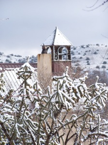 steeple-in-snow